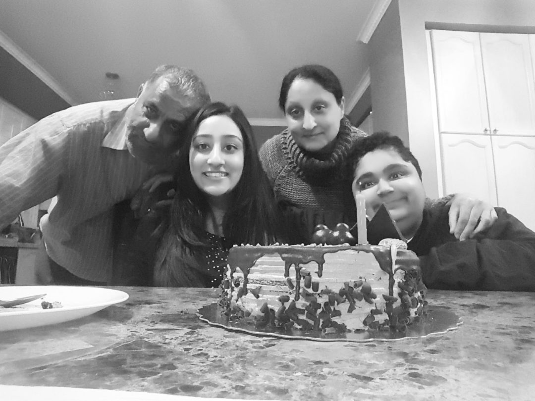 Tanveer and her family